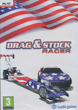 DRAG & STOCK RACER - US Seller - Car Racing Sim PC Game Windows Xp/Vista/7 - NEW