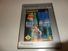PlayStation 2  PS 2  Dead or Alive 2 [Platinum] (6)