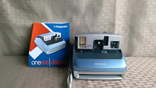 POLAROID  ONE 600 *** Blue INSTANT FILM CAMERA ***  W/ Manual  FILM TESTED