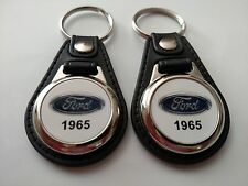 1965 FORD KEYCHAIN 2 PACK CLASSIC TRUCK AND CAR  LOGO