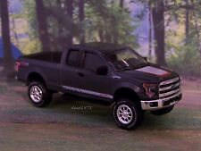 2015 FORD F-150  PICKUP TRUCK 1/64 SCALE COLLECTIBLE DIECAST MODEL - DIORAMA