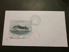 ms MSC Divina . Artist Signed . Stamped On Board Cruise Ship Postal Cover W911