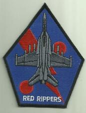 VFA-11 RED RIPPERS U.S.NAVY PATCH FIGHTER JET AIRCRAFT PILOT SAILOR SOLDIER USA