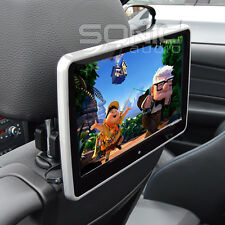 Clip-on 12v Plug-and-Play HD coche reposacabezas reproductor de DVD/USB/SD de pantalla Audi Q3/Q5/Q7