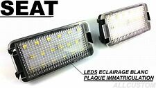 LEDS LED ECLAIRAGE BLANC XENON PLAQUE IMMATRICULATION XENON SEAT AROSA 1997-2004