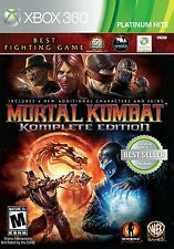 MORTAL KOMBAT KOMPLETE EDITION XBOX 360 NEW! CLASSIC FIGHT, FREDDY KRUEGER