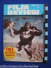Film Review  Magazine - Feb. '77 - King Kong-Jessica Lange, Sweeney !