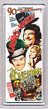 LAUREL & HARDY  in 'THE BOHEMIAN GIRL' - movie poster WIDE FRIDGE MAGNET