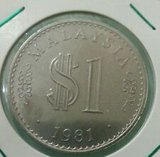 Willie: Malaysia 1981  1 Ringgit