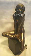 NEW Erotic Artistic Nude Female On Plinth Statue Sculpture Figurine FAST SHIPPIN