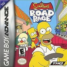 Simpsons Road Rage - Game Boy Advance GBA Game
