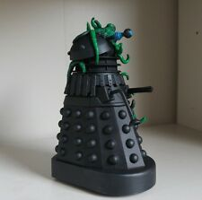 DOCTOR WHO  CUSTOM BLACK  DALEK  WITH MUTANT  5 INCH  MUST SEE