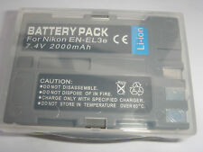 Battery EN-EL3e ENEL3e for NIKON D Series D100 D200 D300 D300S D50 D70 D80