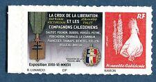 """Nouveau cagou personnalisé 1102 nouvelle calédonie 2016 """" Croix de Libération """""""