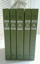 Set of 5 Nelson Doubleday Hardcover Louisa May Alcott Books Good See pics.
