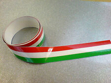 "ITALIAN STRIPED TAPE 50"" x 1"" Strip LAMINATED for extra durability 1 off"