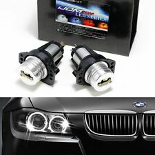 2X CREE ANGEL EYES LED HALO Ring Marker 6W Cool White For 05-08 BMW E90 E91 ET