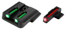 TruGlo Fiber-Optic Handgun Sights - Smith & Wesson -TG131MP - Red/Green