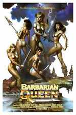 Barbarian Queen Poster 01 Metal Sign A4 12x8 Aluminium