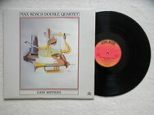 """LP MAX ROACH DOUBLE QUARTET """"Easy Winners"""" SOUL NOTE SN 1109 ITALY §"""