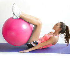 Anti-burst Fitness Exercise Stability Yoga Ball / Swiss, Birthing, gym Ball Pink