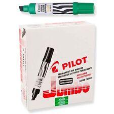 Pilot SC-6600 Jumbo Permanent Marker, Green (PIL 43400) - 12/pk
