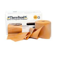 THERA-BAND ® 2,5 m gold Gymnastikband Original Theraband von der Rolle