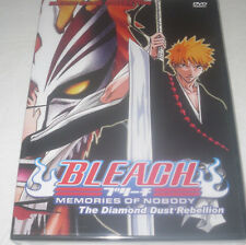 BLEACH MOVIE COLLECTION - MEMORIES OF NOBODY + THE DIAMOND DUST REBELLION ANIME