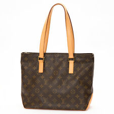 F/S Auth LOUIS VUITTON Shoulder bag Cabas Piano Monogram canvas M51148 Used (A)