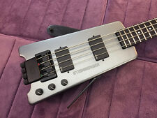 Rare Vintage Silver Steinberger XL2 Bass #05 - Restored & Set-Up by Jeff Babicz!