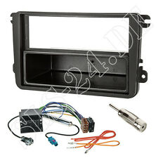 VW Golf Passat Touran Polo T5 Autoradio Einbauset Radioblende ISO Adapterkabel