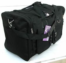 "22"" 40LB. CAP. BLACK DUFFLE BAG/ GYM BAG / LUGGAGE / SUITCASE / CARRY ON AR22"