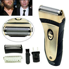 Men's Cordless Electric Rechargeab Hair Razor Facial Shaver Groomer Trimmer
