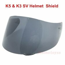 AGV K5 K3 SV Motorcycle Helmet Shield GT2 Anti-Scratch Visor Color Black Lens