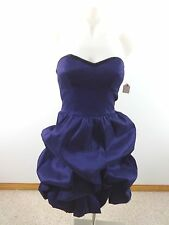 NWT MATERIAL GIRL WOMENS STRAPLESS PURPLE EVENING PARTY DANCING DRESS SIZE 5