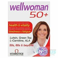 Vitabiotics Wellwoman 50 + Advanced vitamine e minerali supplemento 30 compresse