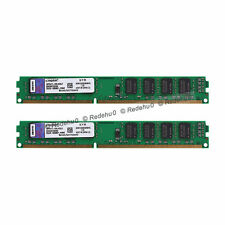 New 8GB 2x4GB 1333MHz PC3-10600U DDR3 240Pin CL9 DIMM SDRAM Low Density Memory