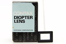 [UNUSED] Genuine Contax Diopter Lens FL +3 for RX/II Aria S2 167MT from JP #305