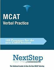 MCAT Verbal Practice : 108 Passages for the New CARS Section by Bryan Schnedeke…
