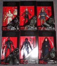 Star Wars Black Series 7 Rogue One Complete 6-Figure Set/Lot! -NEW! K-2SO, Jyn