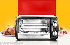 Household Mini Ovens Stainless Steel Electric Toaster Oven Kitchen Appliances