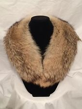 Genuine Coyote Fur Collar