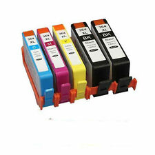 5 HP 364 XL CHIPPED Ink Cartridge for Photosmart 5510 5515 5520 5524 6510 C6380