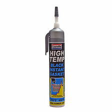 Granville High Temperature Temp BLACK Instant Gasket Silicone Sealant Can 200ml