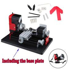 Motorized Metalworking DIY Tool Universal Soft Metal Wood Mini Lathe Machine