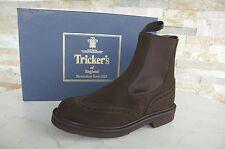 Tricker's Taille 37,5 4,5 Bottines Chelsea Boots Bottes Chaussures Café NEUF