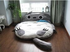 Big Huge Cute 2012 Models 300*180cm Totoro Bed Sleeping Bag Sofa birthday Gift