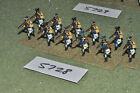 25mm napoleonic prussian light infantry 11 figures (5728) metal painted