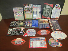 NEW ENGLAND PATRIOTS  CHAMPIONSHIP DRIVEN (16) MAGNET SCHEDULES