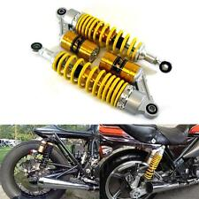 "12.5"" 320mm Rear Yellow Air Shock Absorbers Motorcycle CB KZ CX RD XS 650 VMAX"